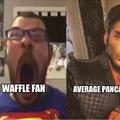 imagine liking waffles