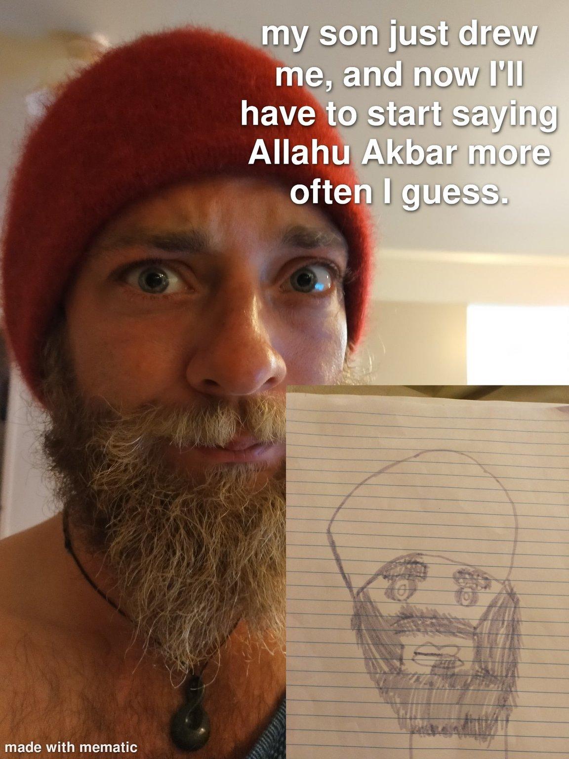 Guess I'm a Muslim now - meme