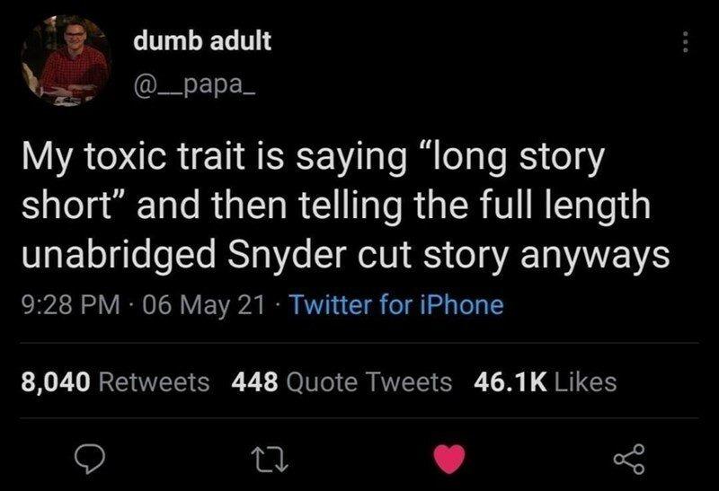 Epic tale with no end - meme