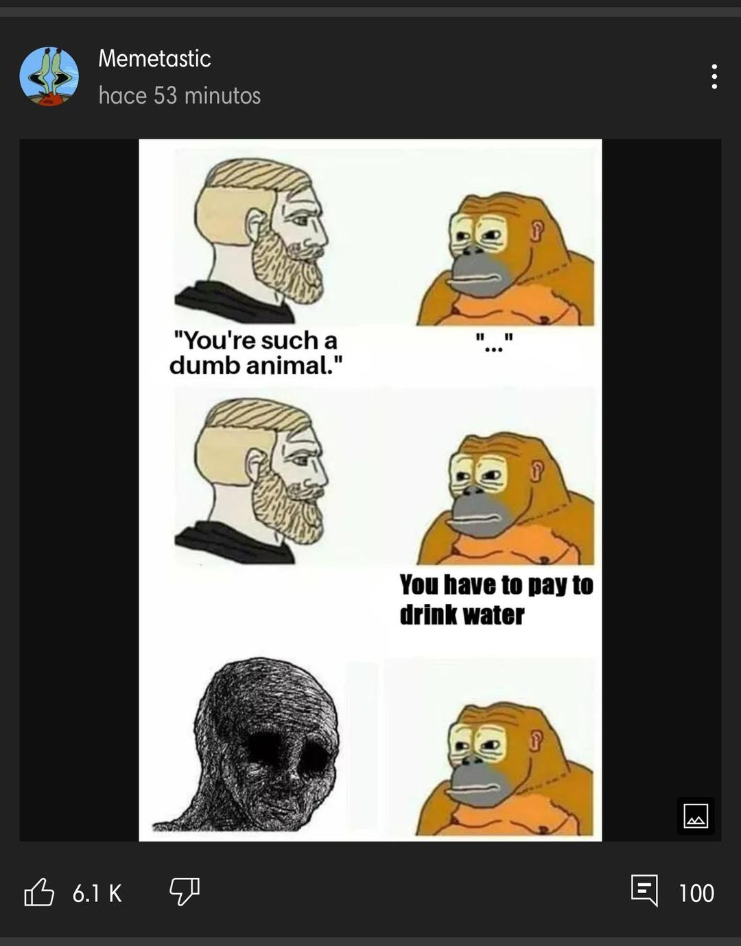 Le informo a moderacion que ahora ellos nos roban los memes