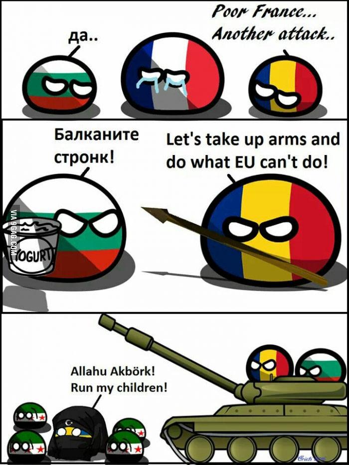 Romaniaball for the win - meme