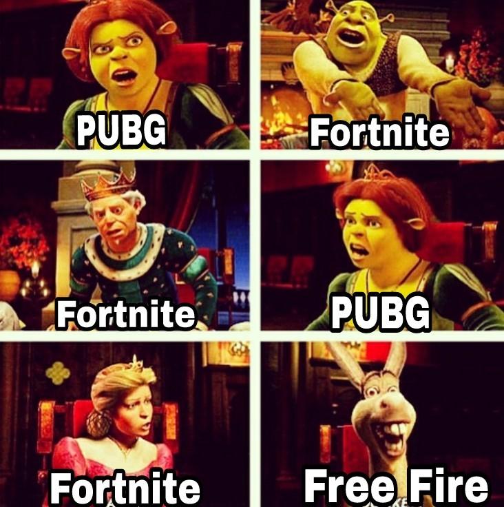 Igual me gusta más el Free Fire - meme