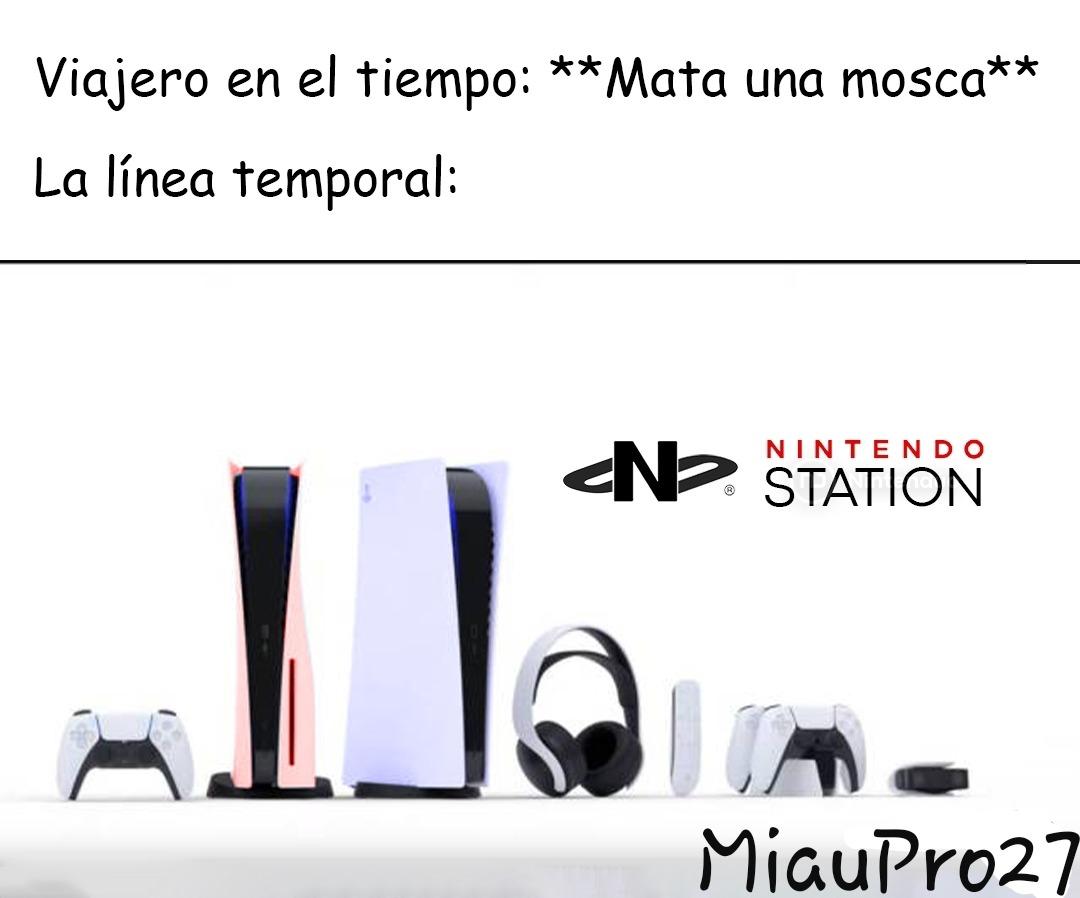 Nintendo Station - meme