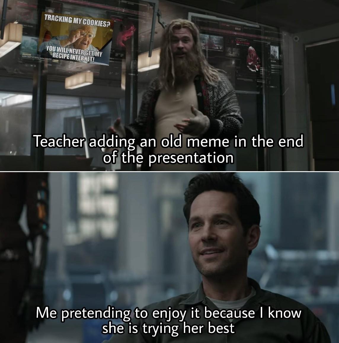 Be happy - meme