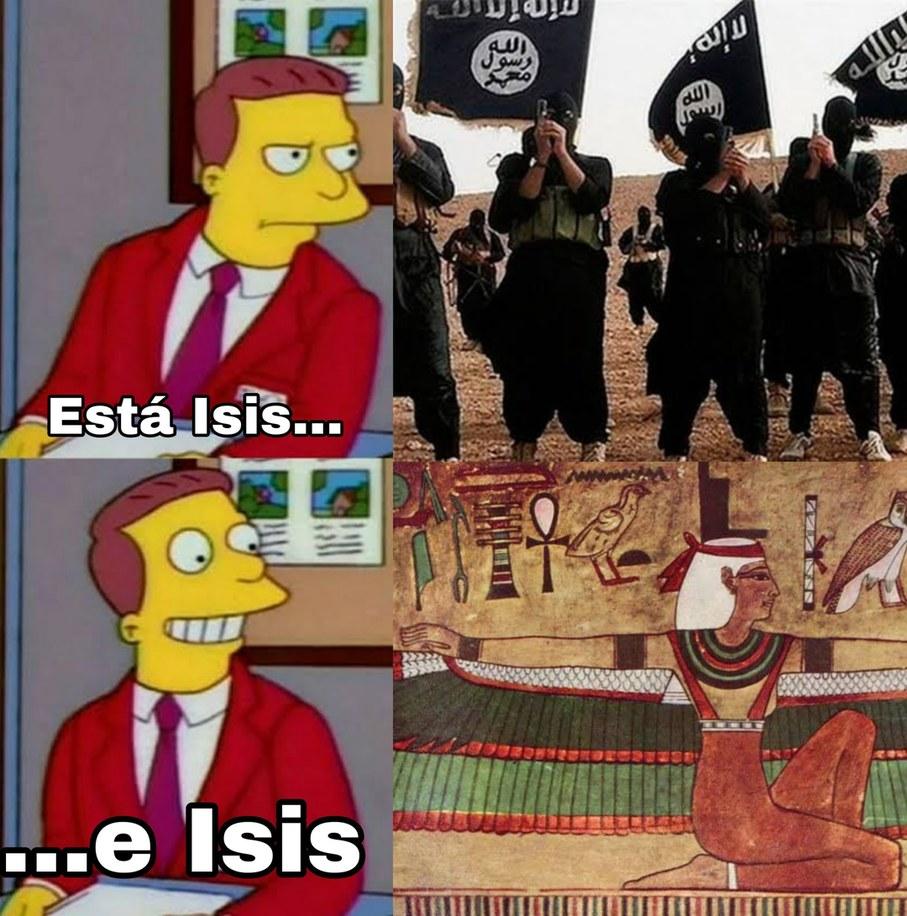 Muy ironíco que un grupo islamista tenga el nombre de una diosa del politeismo - meme