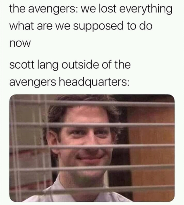 The Office meets Avengers - meme