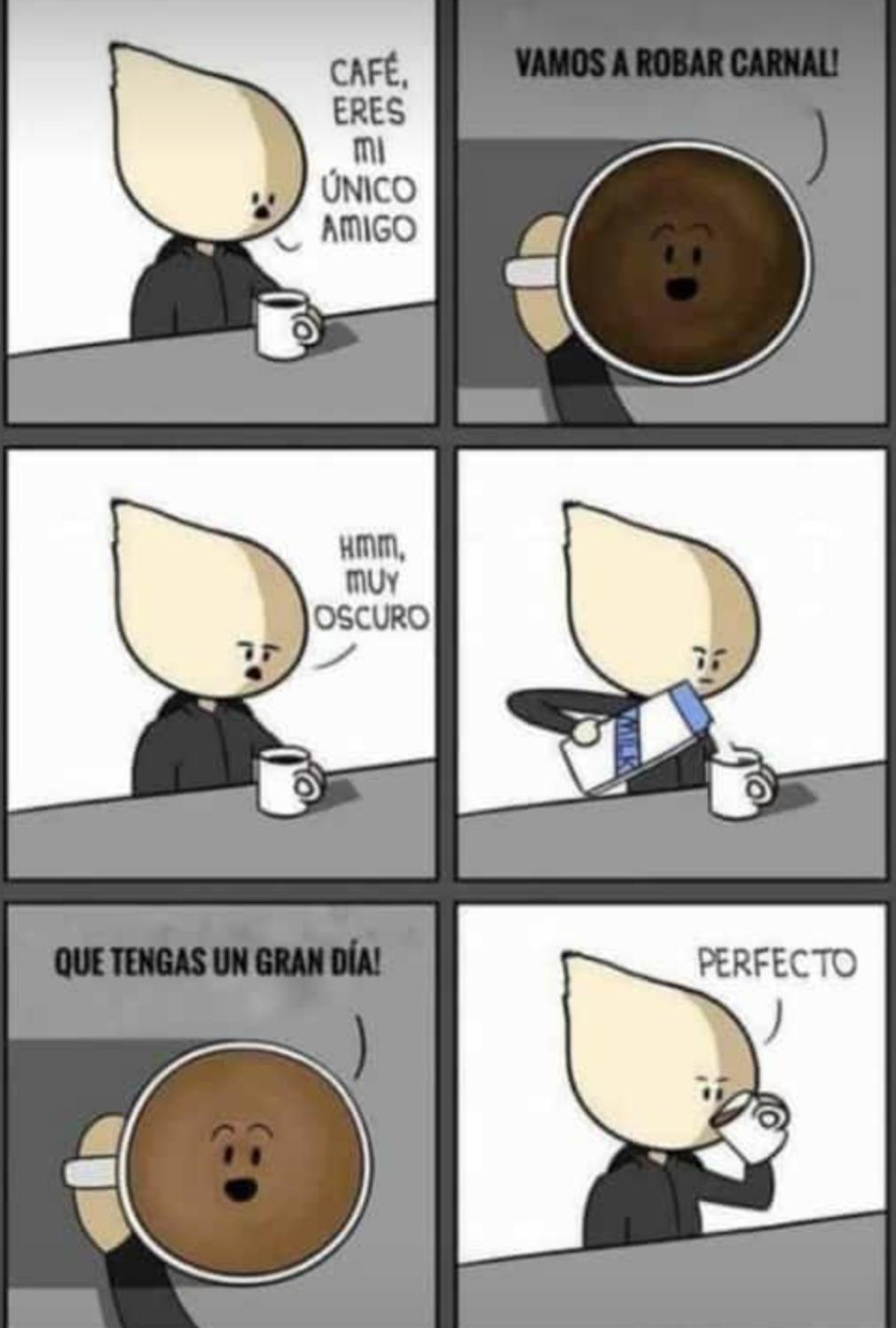 Dark Coffe - meme