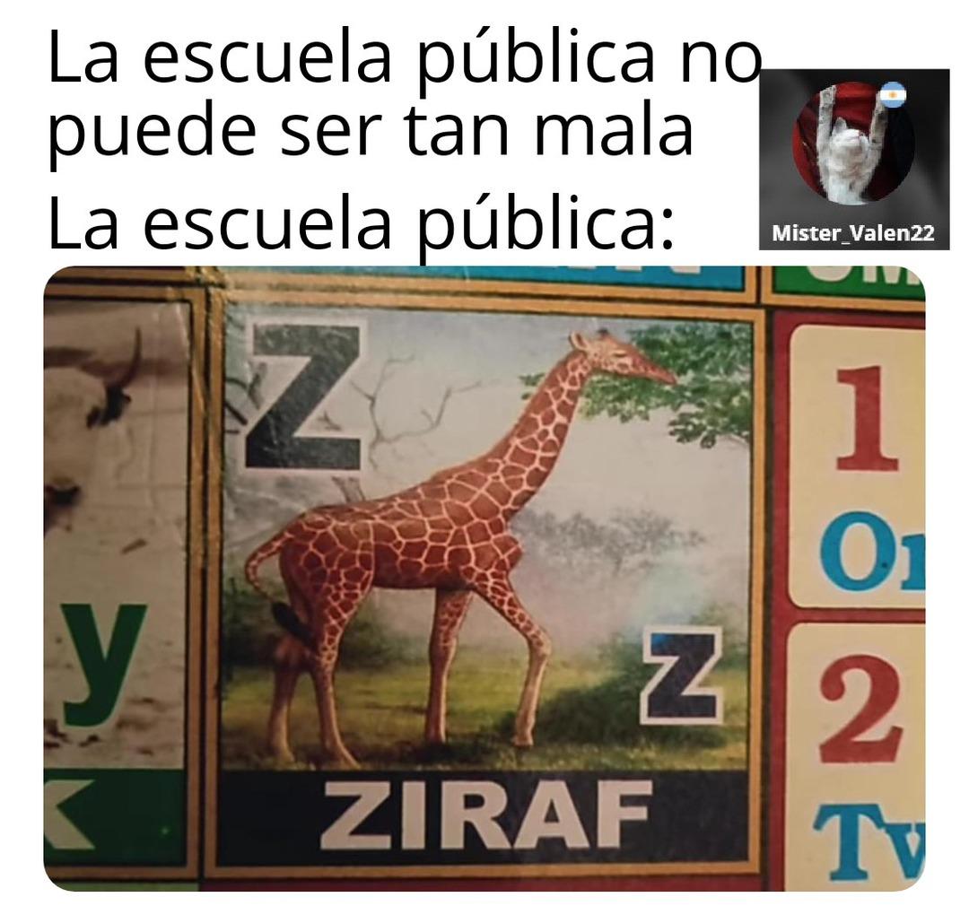 Ziraf  - meme