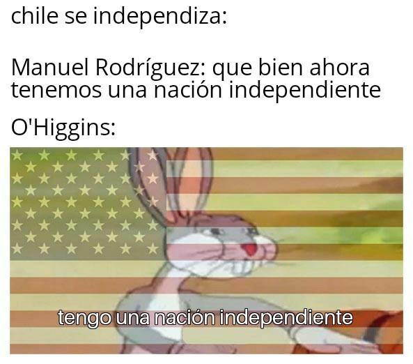 Que penca era el Huacho Riquelme - meme