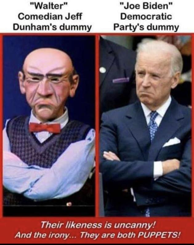 Walter and Biden - meme