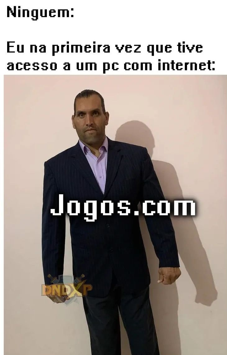 Jogos online grátis - meme