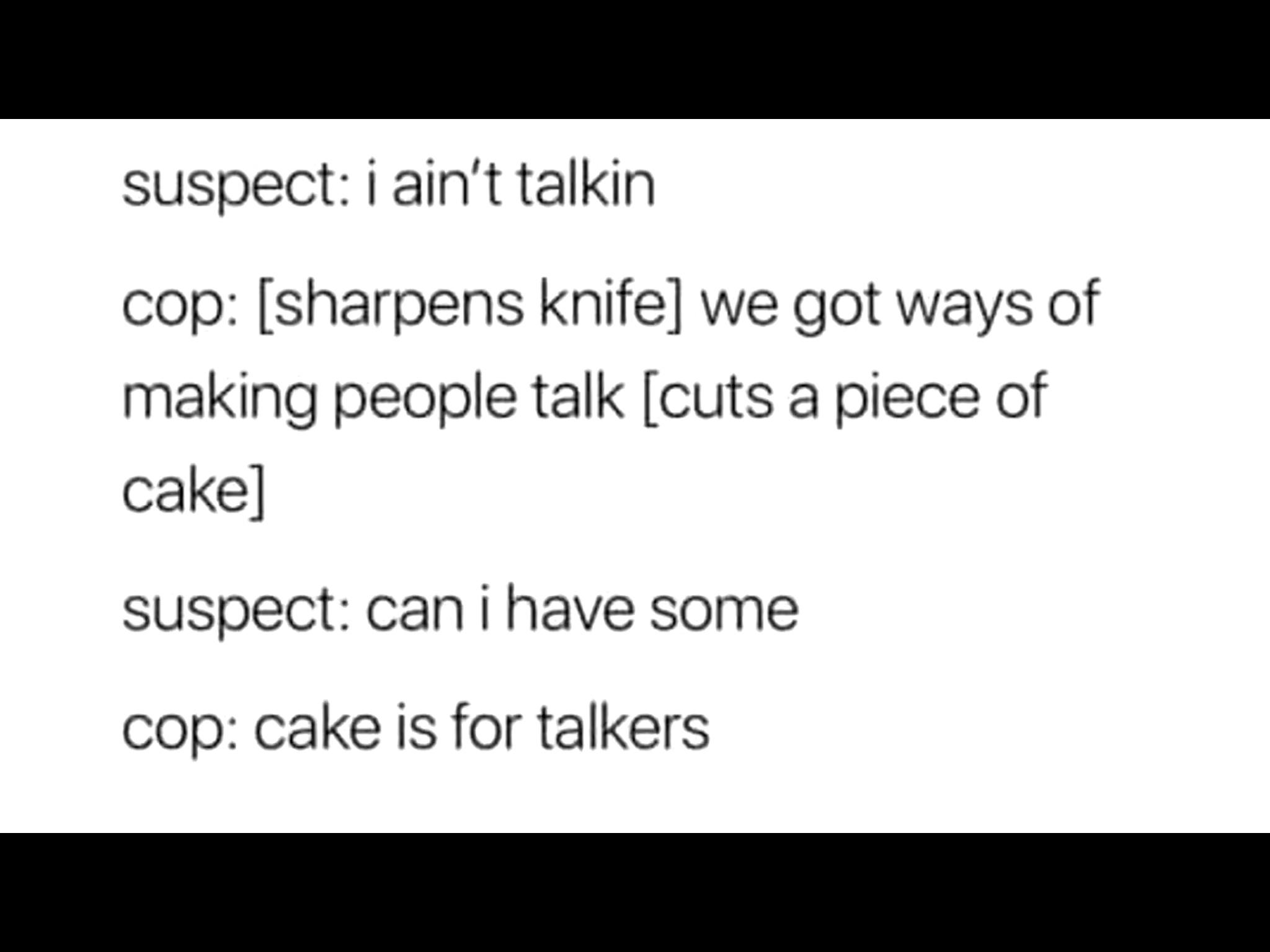 Cake - meme