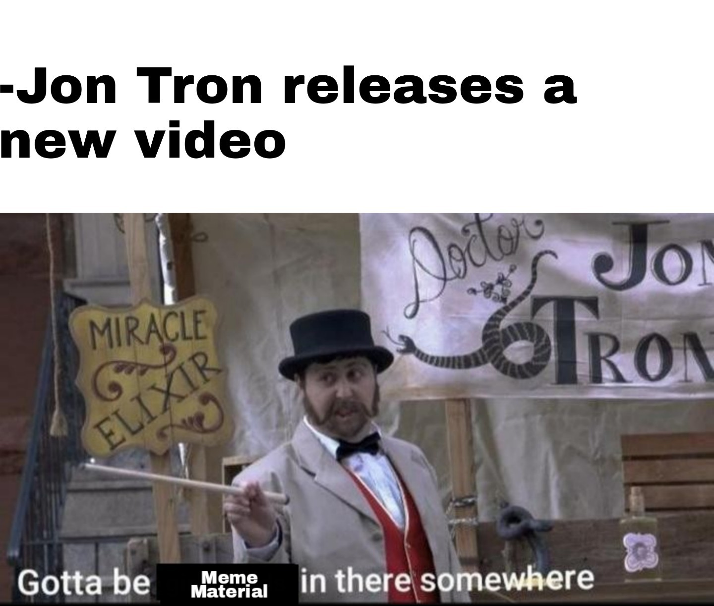 Every video has at least one great new meme format