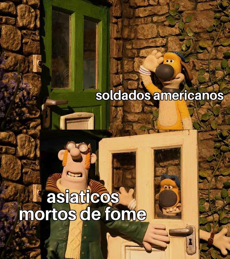 Kkkkkk patriotismo - meme