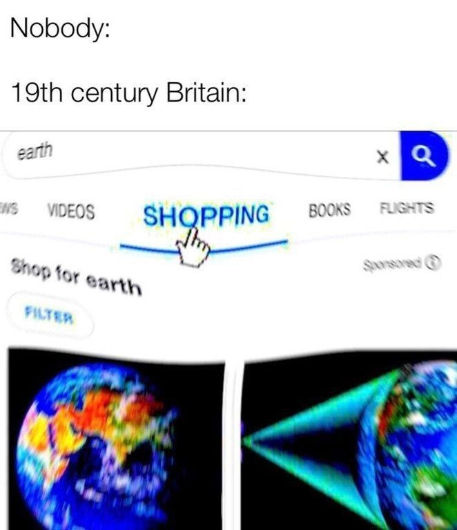 Add the world to the cart - meme