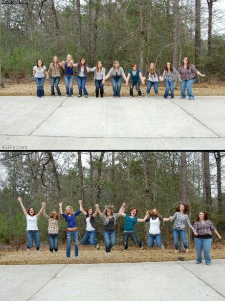 La gorda del grupo - meme