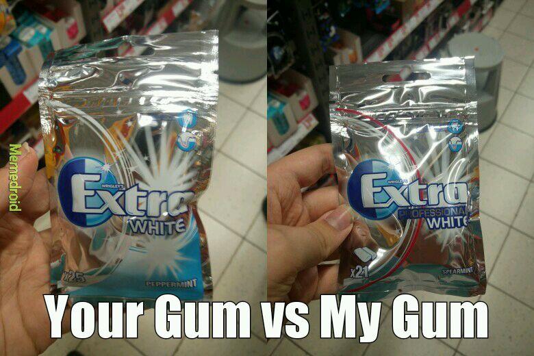 Professional Gum - meme