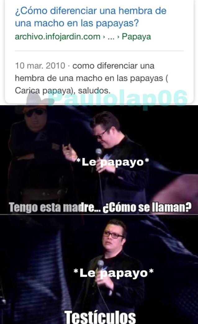 Papayo : o - meme