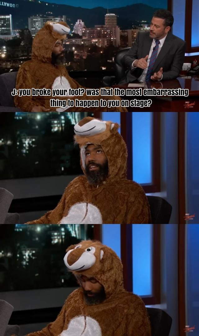 Donald Glover is hilarious haha - meme