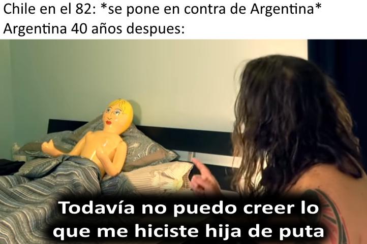 Argentina y sus rencores... - meme