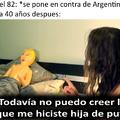 Argentina y sus rencores...
