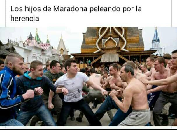 Pobre maradona - meme