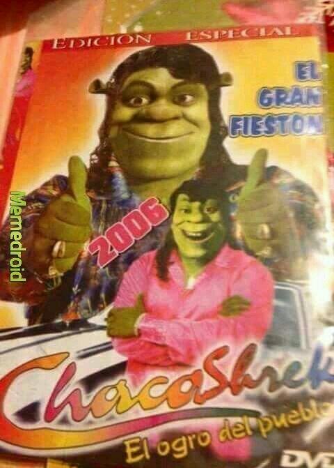 Chacashrek - meme