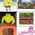 Roblox es virgin, Minecraft es chad, LittleBigPlanet es GOD