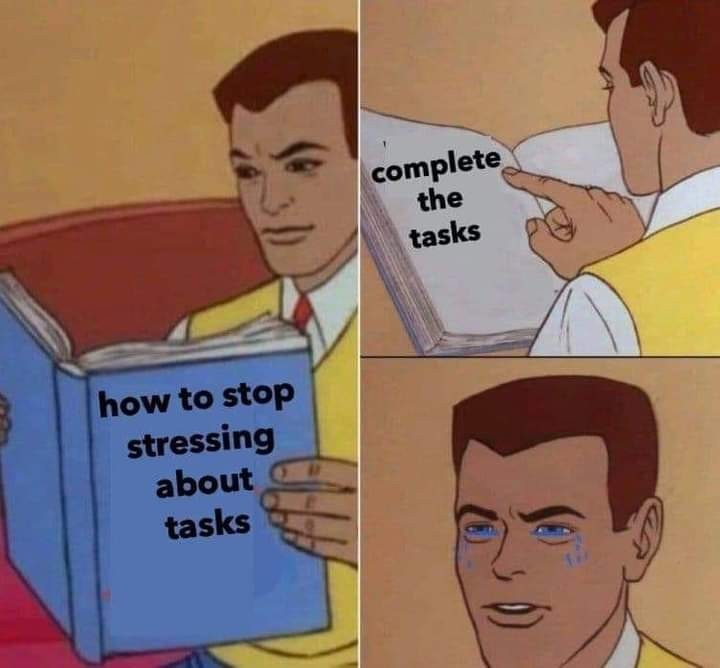 Damn it self responsibility - meme
