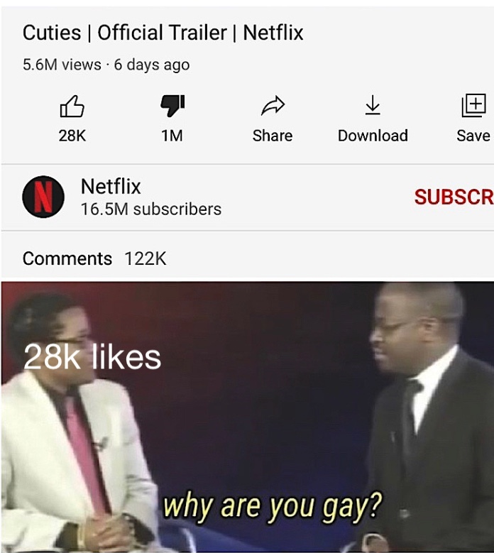 Netflix on crack rn - meme