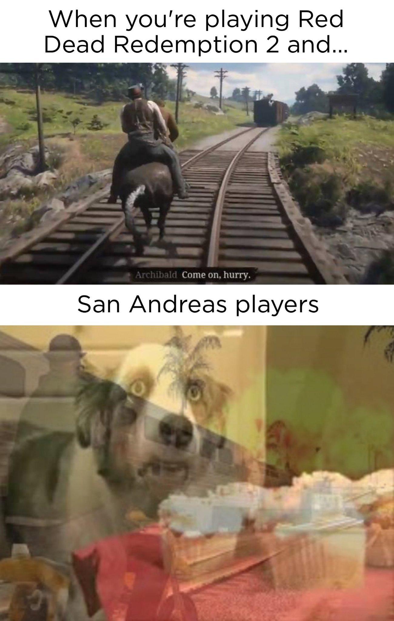 Dammit Rockstar! - meme