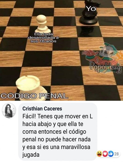 ajedrez - meme