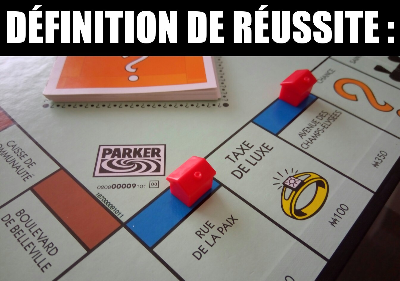 Monopoly win - meme