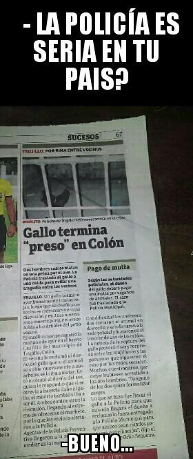 Super serios... (Honduras) - meme