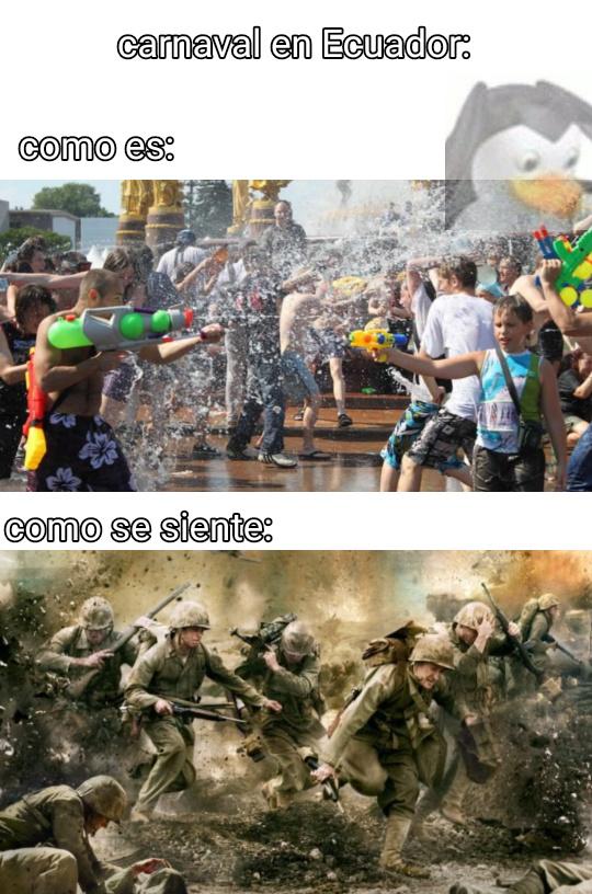 La tercera guerra mundial versión ecuatoriana :D - meme