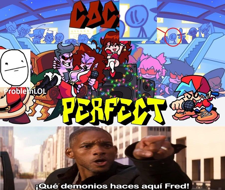 tambien esta miku y el limon demonio, meat boy ,pico y oney play - meme