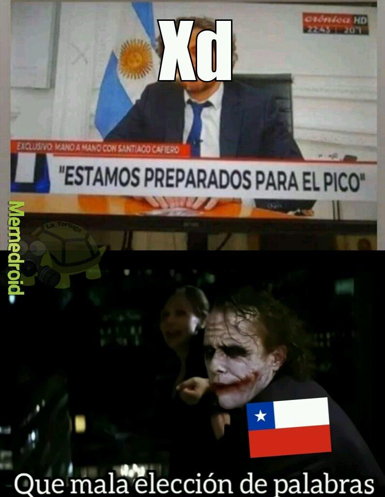 Argentina cada vez mas trola - meme