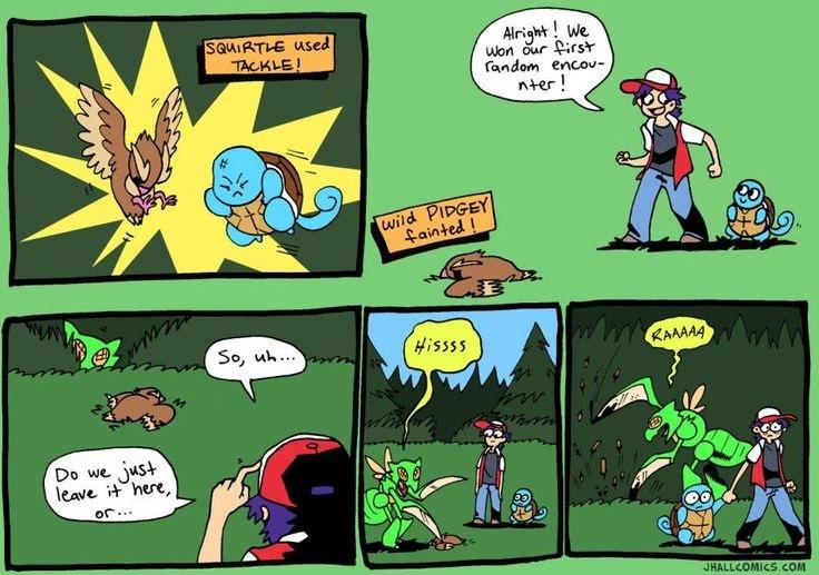 Pokemon, the untold story - meme