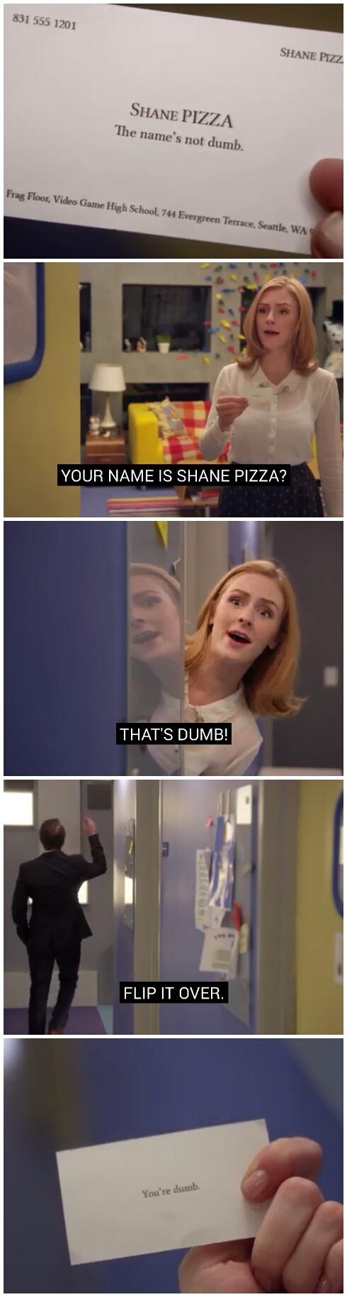 I hope this formats correctly - meme