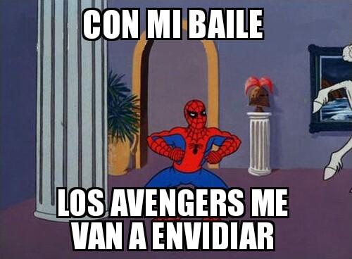 Spiderman baila - meme
