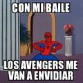 Spiderman baila