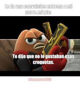 *le disparan* - meme