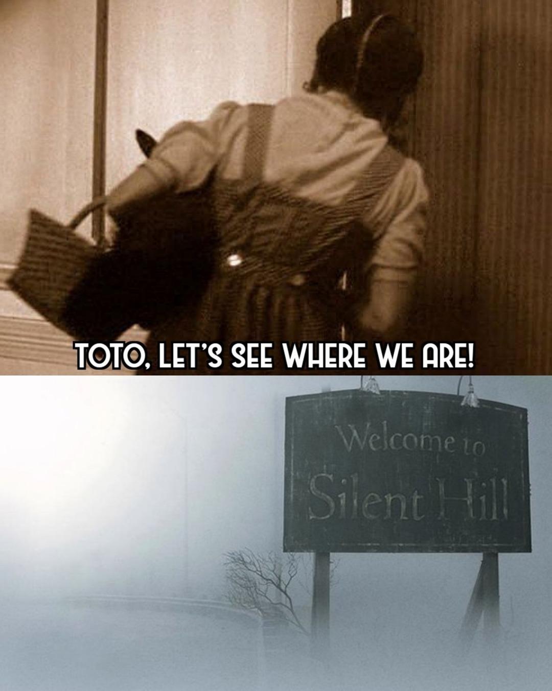 Wizard of Silent Hill - meme