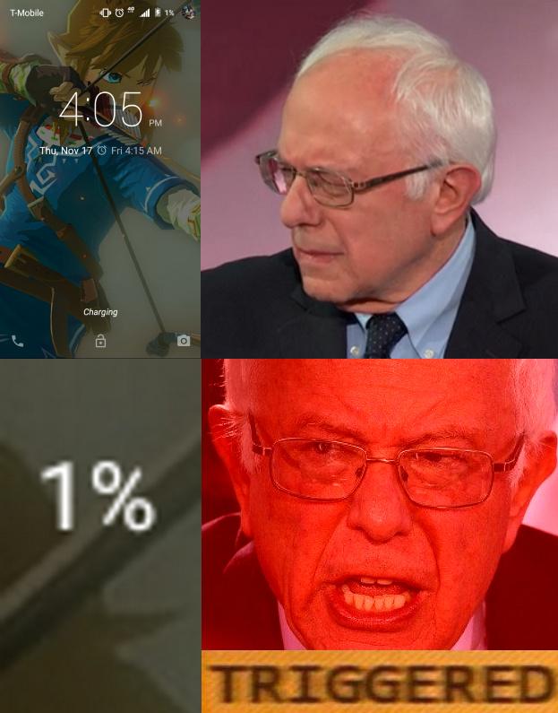 WE MUST BRING DOWN THE 1% - meme