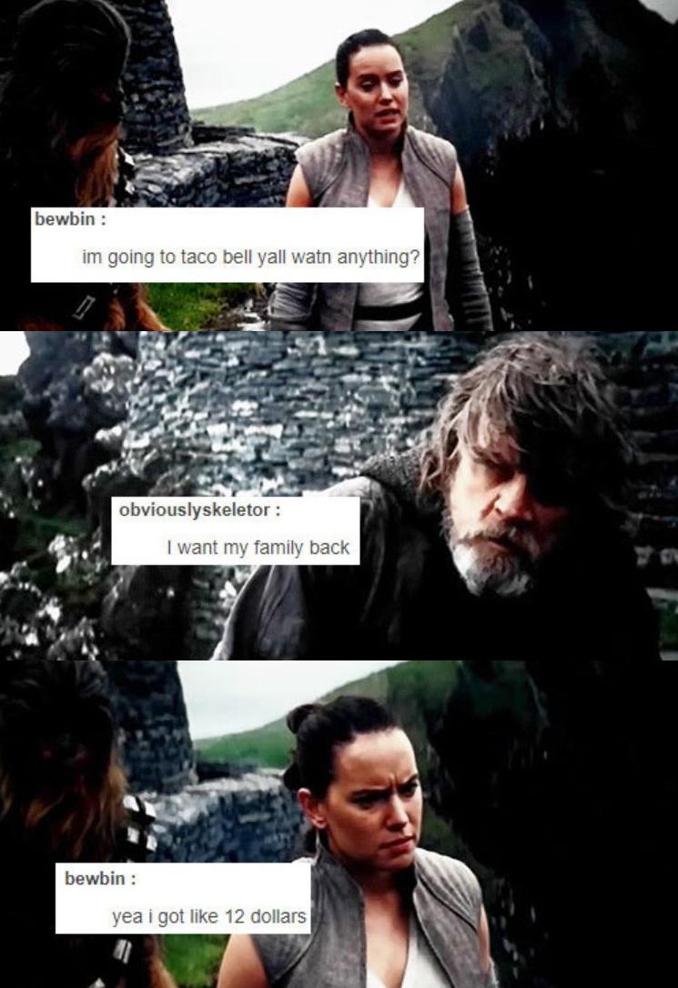 Poor Luke - meme