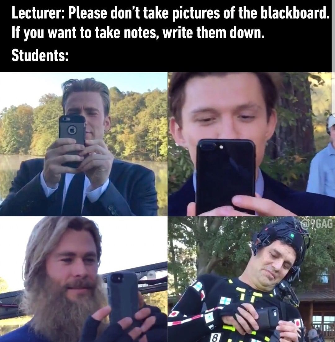 mark taking pictures is funny - meme
