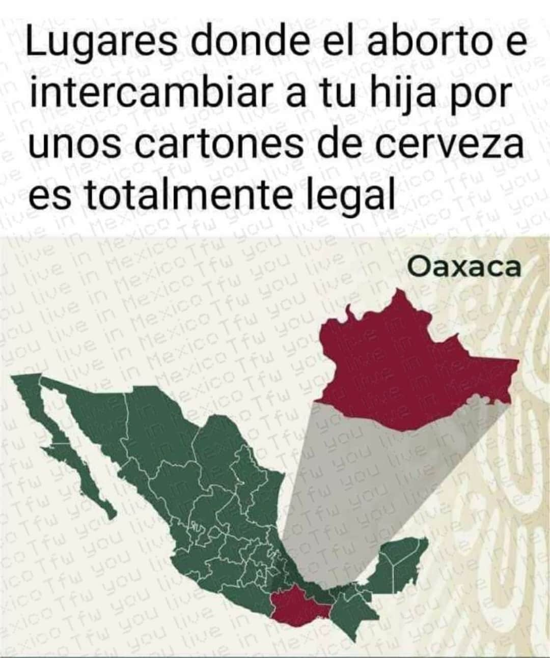 Pinches oaxacos - meme