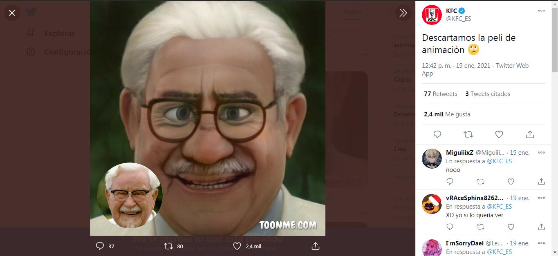 Ok banda, otra teoría de que KFC es memedroider .___.
