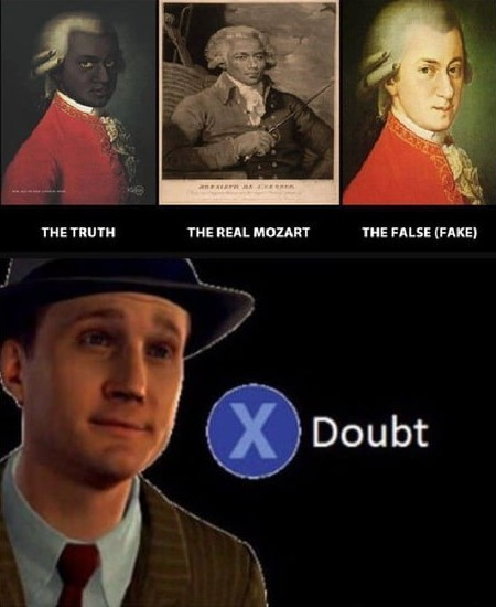 We wuz mozart 'n sheit - meme
