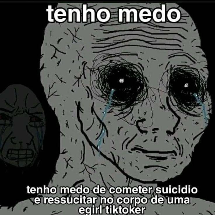 Meu medo - meme